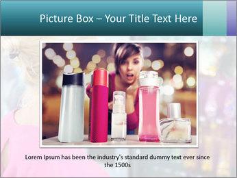 Woman Buys Snacks PowerPoint Template - Slide 15
