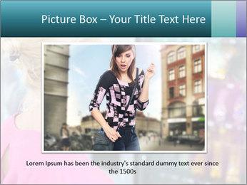 Woman Buys Snacks PowerPoint Template - Slide 16