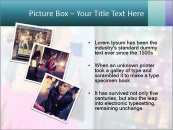 Woman Buys Snacks PowerPoint Template - Slide 17