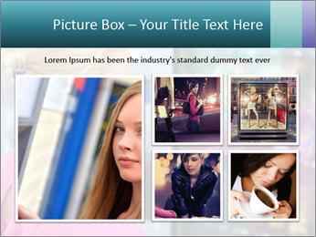 Woman Buys Snacks PowerPoint Template - Slide 19