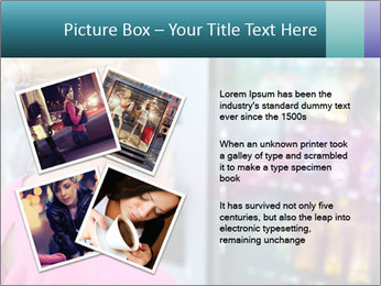Woman Buys Snacks PowerPoint Template - Slide 23