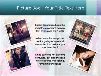 Woman Buys Snacks PowerPoint Template - Slide 24