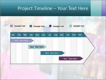 Woman Buys Snacks PowerPoint Template - Slide 25