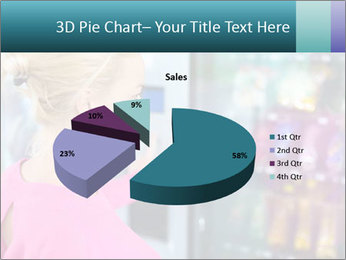 Woman Buys Snacks PowerPoint Template - Slide 35