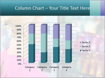 Woman Buys Snacks PowerPoint Template - Slide 50