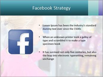 Woman Buys Snacks PowerPoint Template - Slide 6