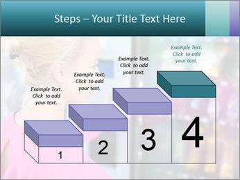 Woman Buys Snacks PowerPoint Template - Slide 64