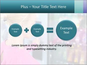 Woman Buys Snacks PowerPoint Template - Slide 75