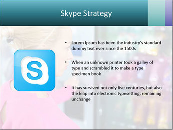 Woman Buys Snacks PowerPoint Template - Slide 8