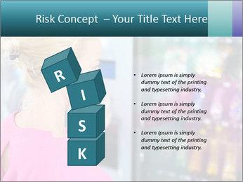 Woman Buys Snacks PowerPoint Template - Slide 81