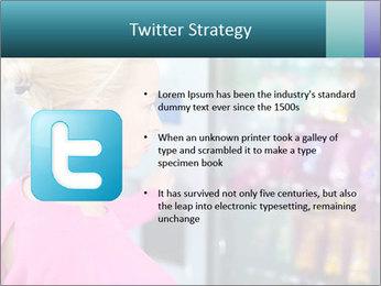 Woman Buys Snacks PowerPoint Template - Slide 9