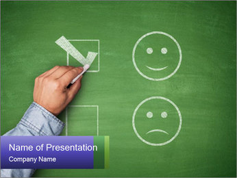 Changing Mood PowerPoint Template - Slide 1