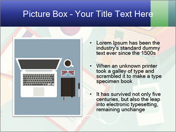 Vector Schoolbooks PowerPoint Templates - Slide 13