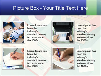 Vector Schoolbooks PowerPoint Templates - Slide 14
