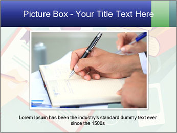 Vector Schoolbooks PowerPoint Templates - Slide 16