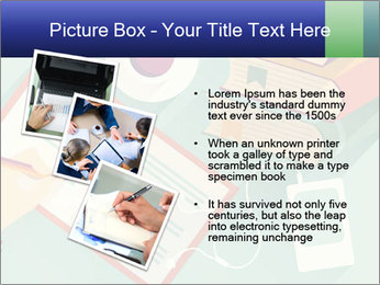 Vector Schoolbooks PowerPoint Templates - Slide 17