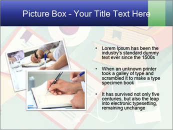 Vector Schoolbooks PowerPoint Templates - Slide 20
