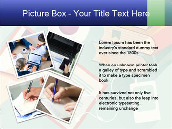 Vector Schoolbooks PowerPoint Templates - Slide 23