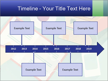 Vector Schoolbooks PowerPoint Templates - Slide 28