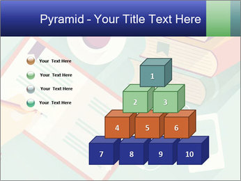 Vector Schoolbooks PowerPoint Templates - Slide 31