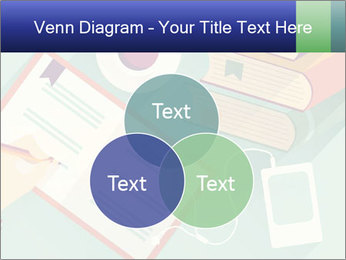Vector Schoolbooks PowerPoint Templates - Slide 33
