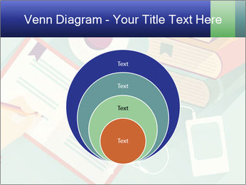 Vector Schoolbooks PowerPoint Templates - Slide 34