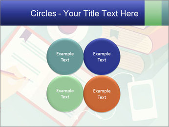 Vector Schoolbooks PowerPoint Templates - Slide 38