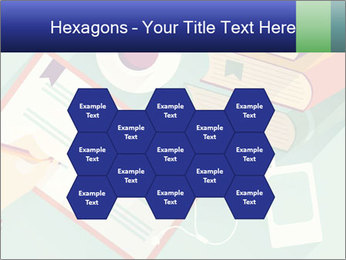 Vector Schoolbooks PowerPoint Templates - Slide 44