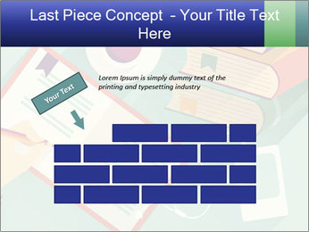Vector Schoolbooks PowerPoint Templates - Slide 46