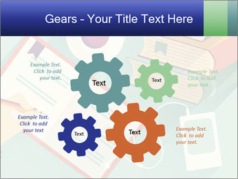 Vector Schoolbooks PowerPoint Templates - Slide 47