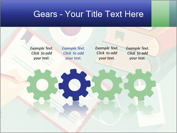 Vector Schoolbooks PowerPoint Templates - Slide 48