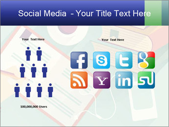 Vector Schoolbooks PowerPoint Templates - Slide 5
