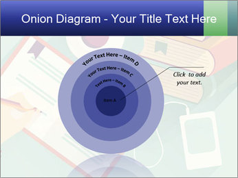 Vector Schoolbooks PowerPoint Templates - Slide 61