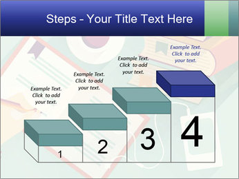 Vector Schoolbooks PowerPoint Templates - Slide 64