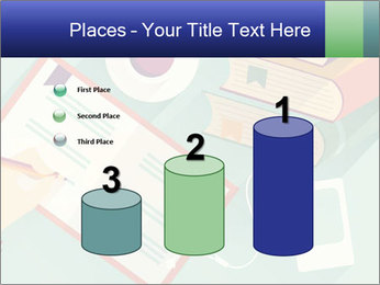 Vector Schoolbooks PowerPoint Templates - Slide 65