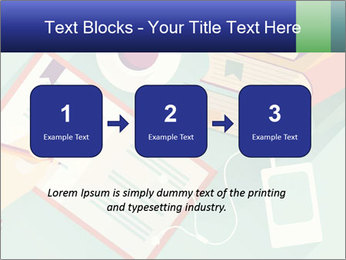 Vector Schoolbooks PowerPoint Templates - Slide 71