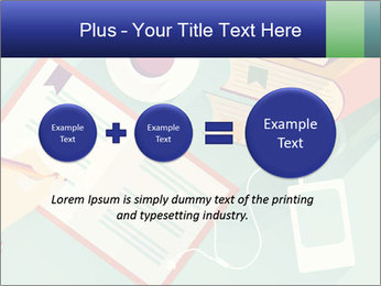 Vector Schoolbooks PowerPoint Templates - Slide 75