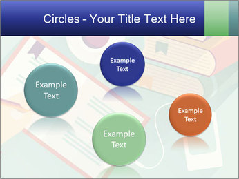 Vector Schoolbooks PowerPoint Templates - Slide 77