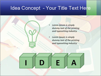 Vector Schoolbooks PowerPoint Templates - Slide 80