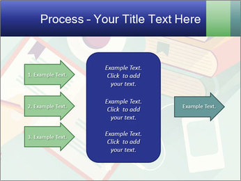 Vector Schoolbooks PowerPoint Templates - Slide 85