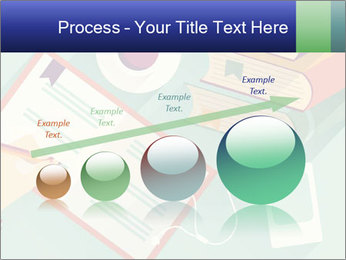 Vector Schoolbooks PowerPoint Templates - Slide 87