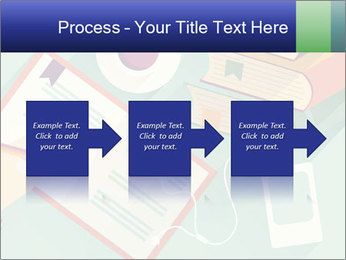 Vector Schoolbooks PowerPoint Templates - Slide 88