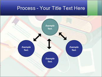 Vector Schoolbooks PowerPoint Templates - Slide 91