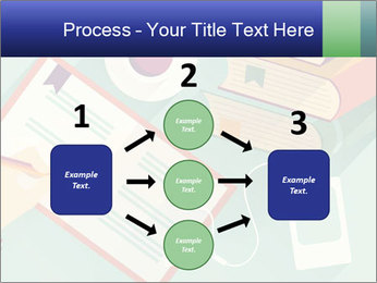 Vector Schoolbooks PowerPoint Templates - Slide 92