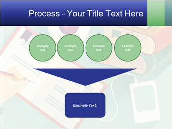 Vector Schoolbooks PowerPoint Templates - Slide 93