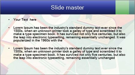 Vector Schoolbooks PowerPoint Template - Slide 2