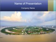 Panoramic Construction PowerPoint Templates