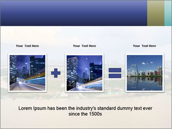 Panoramic Construction PowerPoint Template - Slide 22