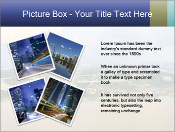 Panoramic Construction PowerPoint Template - Slide 23