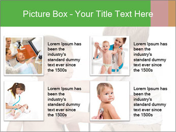 Boys Play Doctors PowerPoint Template - Slide 14